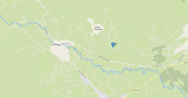 Cumiana (TO): Terreno agricolo 3650 mq c.a.